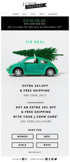 J.Crew gibt 30% Rabatt und kostenlose Lieferung vor Weihnachten