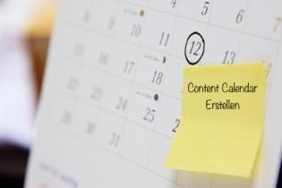 10 Tipps zum Erstellen eines Content Calendar